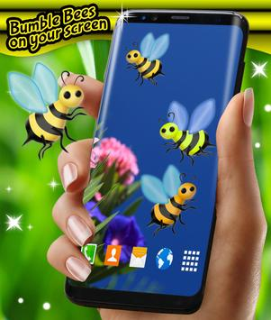 Bumble Bees on Your Screen apk screenshot