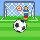 Alhaddaf. football penalties icon