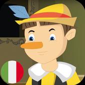 Pinocchio – Fiaba per bambini – Italiano icon