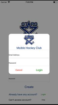 Lincoln Stars Mobile Hockey poster