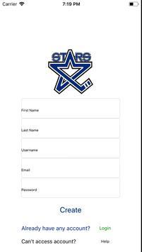 Lincoln Stars Mobile Hockey screenshot 1