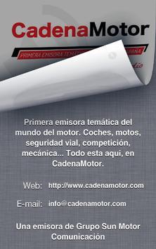 Cadena Motor screenshot 1