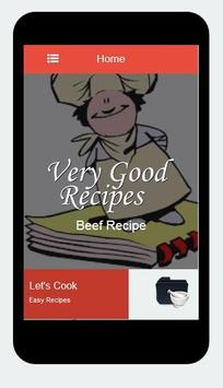 Beef Recipes screenshot 1