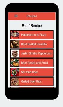 Beef Recipes screenshot 2