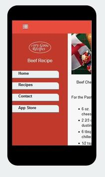 Beef Recipes apk screenshot