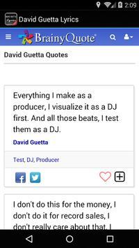 David Guetta Lyrics screenshot 3