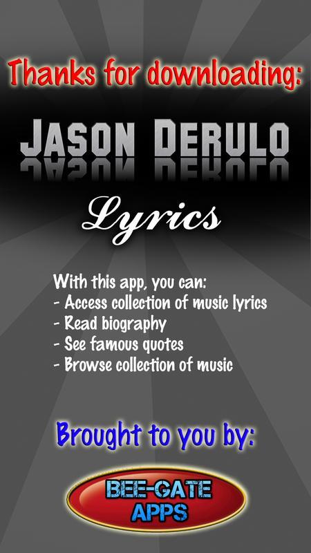 Marry Me Jason Derulo Quotes