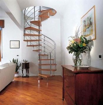 Stairway ideas design poster