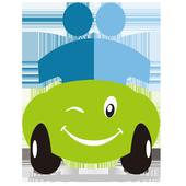 BeepMe: Carpool / Ride-sharing icon