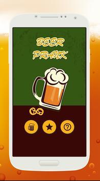 helium Beer Prank poster