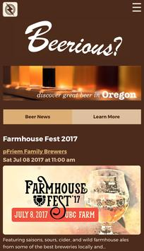 Beerious? poster