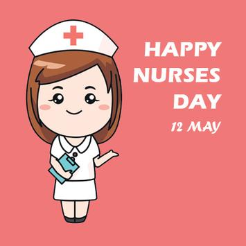 Happy Nurses Day Greeting Card poster