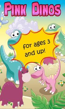 Dinosaur Game for Girls poster