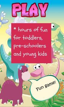 Dinosaur Game for Girls screenshot 1