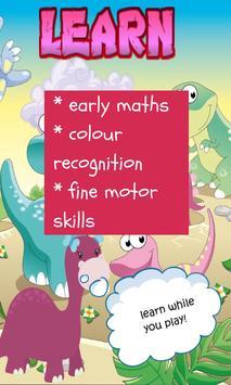 Dinosaur Game for Girls screenshot 2