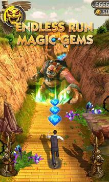 Temple Endless Run Magic Gems poster
