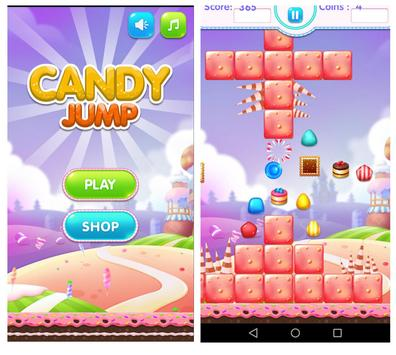 Candy Jump Sweet of Happy Cute Lolly Crush Kids poster