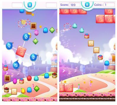 Candy Jump Sweet of Happy Cute Lolly Crush Kids screenshot 1