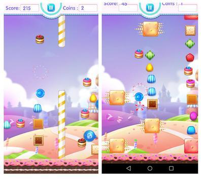Candy Jump Sweet of Happy Cute Lolly Crush Kids screenshot 2