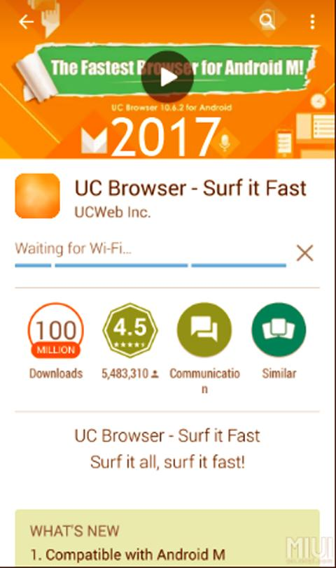 2017 UC Browser Guide poster