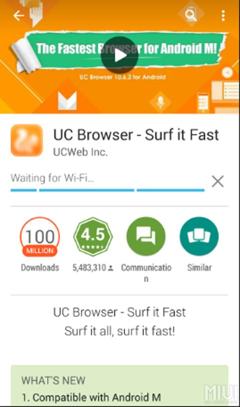2017:UC Browser Tips poster