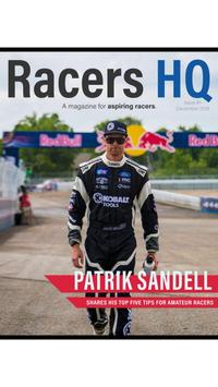 Racers HQ Magazine poster