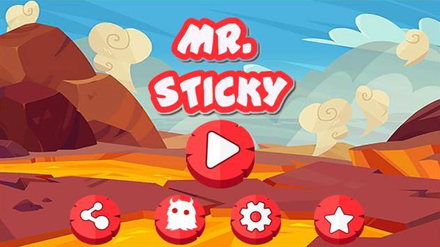 Mr Sticky poster