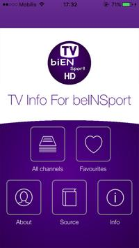 Info For TV Sat bien Sport 217 screenshot 1