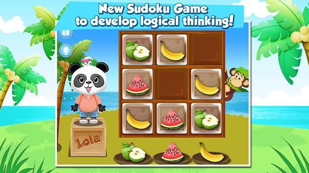 Lola's Fruity Sudoku FREE apk screenshot