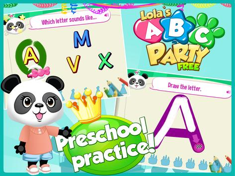 Lola's ABC Party-Learn to Read poster
