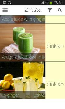 100 Juices & Drinks screenshot 2