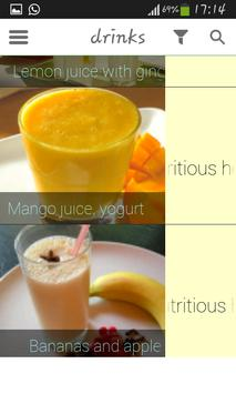 100 Juices & Drinks screenshot 3