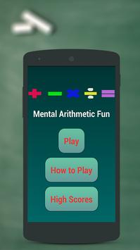 Arithmetic Math Games for kids poster