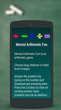 Arithmetic Math Games for kids screenshot 5