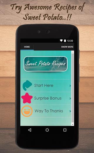 Sweet Potato Recipes Guide poster