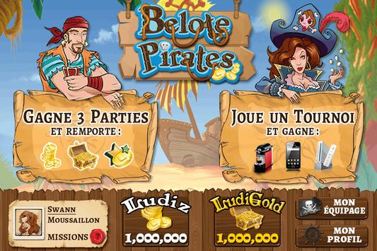 Belote Pirates poster