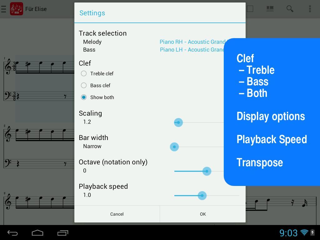MIDI Score for Android - APK Download