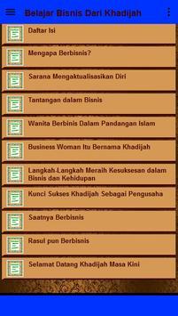 Belajar Bisnis Dari Siti Khadijah screenshot 2