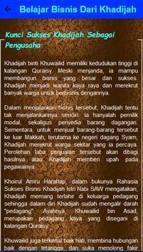 Belajar Bisnis Dari Siti Khadijah screenshot 3
