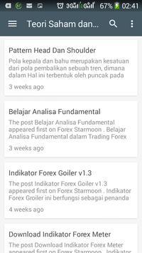 Analisa Saham dan Forex screenshot 9