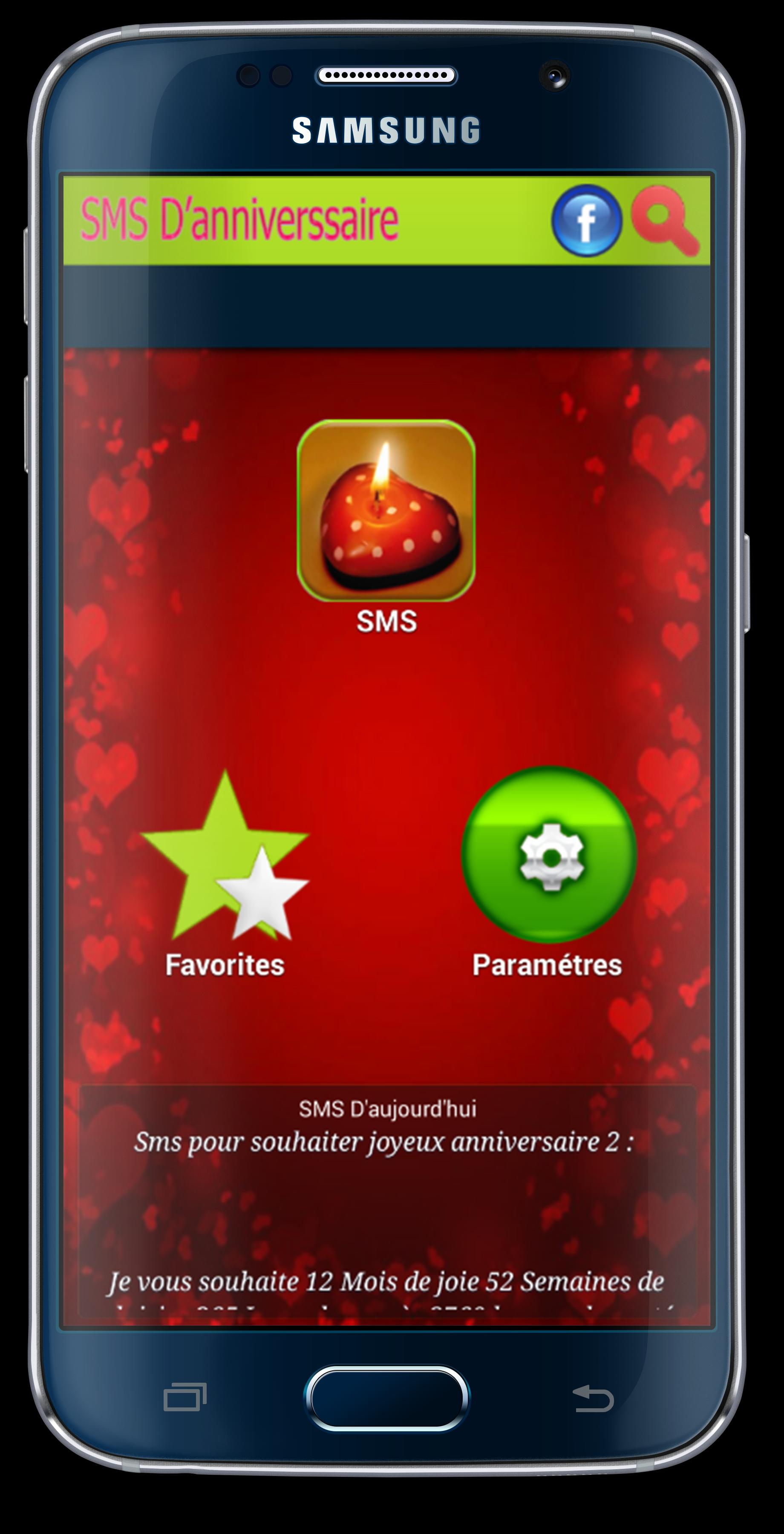 Sms Danniversaire Et Damour For Android Apk Download