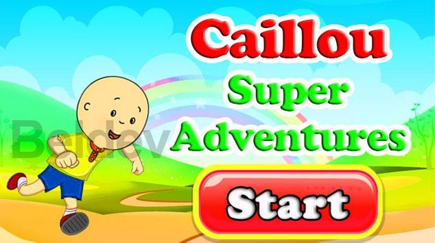 Running Cailluo Super Adventures poster
