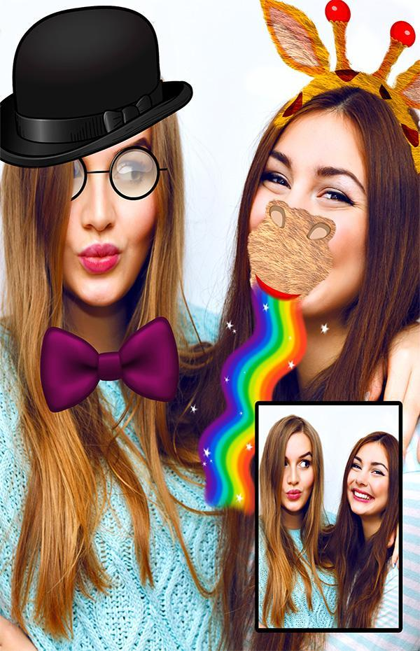 Snap Face filters Photo Editor poster