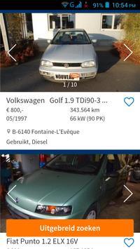 Tweedehands Auto België screenshot 1
