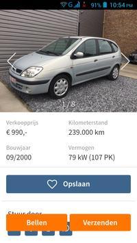 Tweedehands Auto België screenshot 2