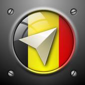 Belgium Navigation icon