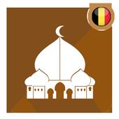 prayer time belgium - qibla & athan & quran icon