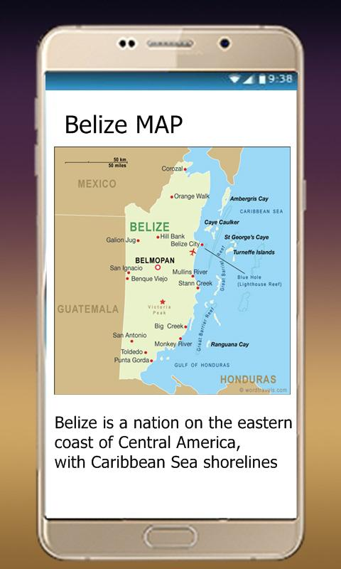 Belize world map apk download free travel local app for android belize world map poster gumiabroncs Images