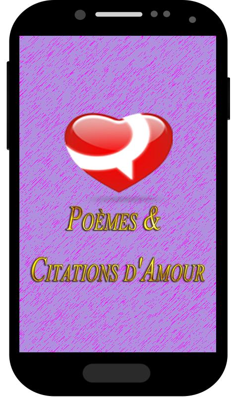 Poèmes Citations Damour For Android Apk Download