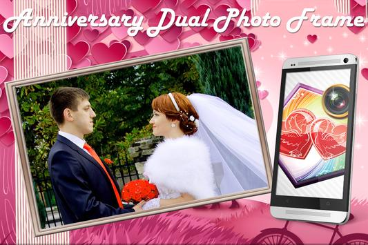 Anniversary Dual Photo Frame apk screenshot